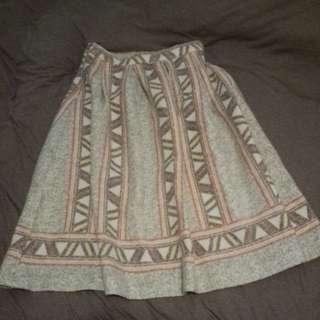 韓國購入毛毯裙