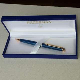 Waterman Hemisphere Blue Marble Ballpen (black ink)