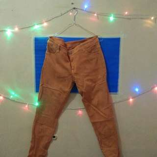 Celana Jeans - Orange #UNIS2018