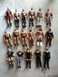 WWE Used Basic Figures $8 each