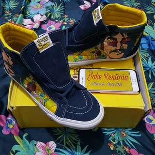 Vans Sk8hi X The Beatles Faces Dress