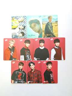 SF9 Yes Card,閃卡