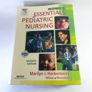 Essentials of Pediatric Nursing by Wong's