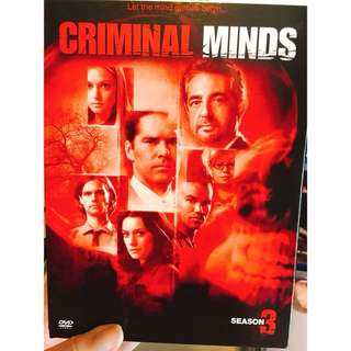 Criminal Minds Season 3 DVD