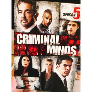 Criminal Minds Season 5 DVD