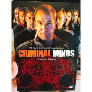 Criminal Minds Season 1 DVD
