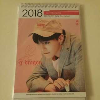 G-Dragon 2018 Calender