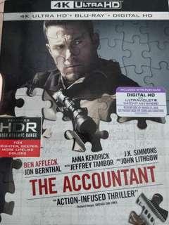 The Accountant 4K Ultra HD + Blu-Ray