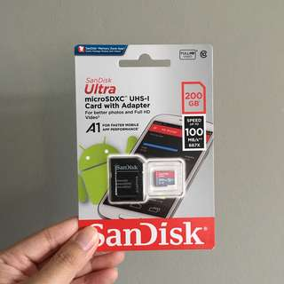 Sandisk Micro SD Card 200GB