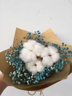 Mini Cotton bouquet