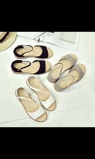 strap buckle sandals po