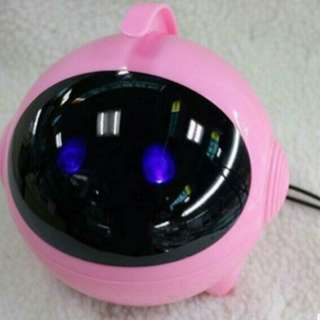 Cute Astros Luminous Bass Speakers Subwoofer USB 2.0 For Phone /  Laptop / Desktop PC - Pink colour