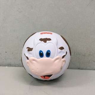 Fisher Price bounce & giggle Bumble Ball Cow