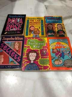 Bundle of Jacqueline Wilson's Books