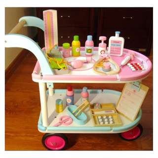 Wooden Toys Family Simulation Medical Car Toys
