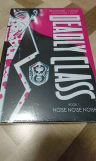Deadly Class Deluxe Hardcover Book 1