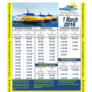 Cheap Sindo Ferry Ticket ( tax all in )