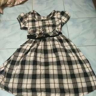 Mini dress tartart