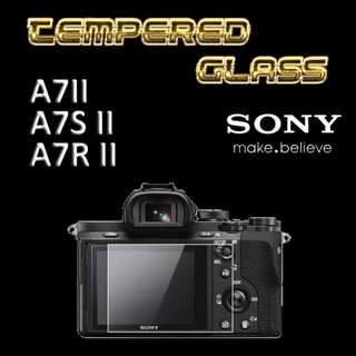 Sony A7II (α7 II) Tempered Glass Screen Protector / Guard