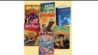 Harry potter komplit indo english