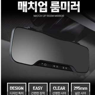 韓國 M型 倒後鏡 安裝於車內倒後鏡