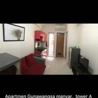 Sewa apartemen Gunawangsa Manyar