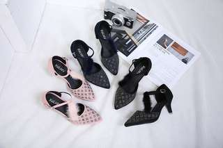 Kelsey heels swarovski