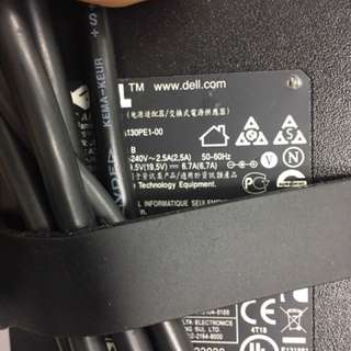 Dell Laptop Adapter Power Charger