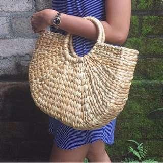 Bali straw bag