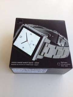 HEX Metal Watch Band iPod Nano 全新表带