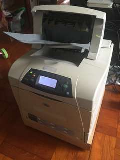 HP LaserJet Printer 4250n Network Duplex Printer USED 網絡打印機