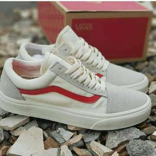 Vans OldskOol tan red Premium original high Quality
