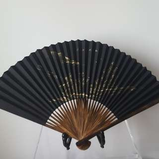 Vintage Paper Folding Fan