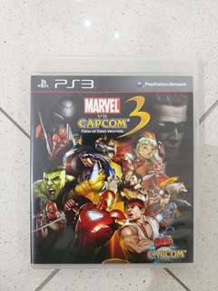USED Marvel Vs Capcom 3 Fate of Two Worlds