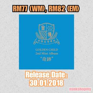 [PREORDER]  Golden Child - Miracle