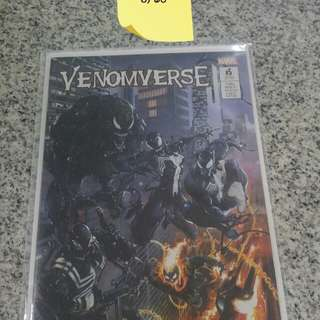 Venomverse #5 Clayton Crain Variant