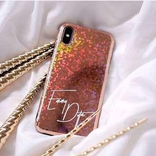CUSTOM CASE - iphone cover rose gold