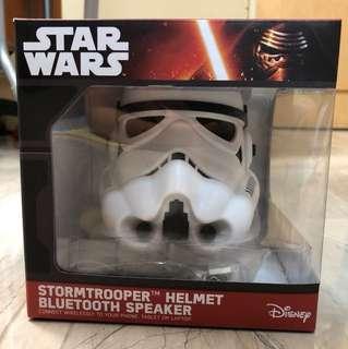全新 Star Wars Stormtrooper Helmet Bluetooth Speaker 白兵頭像藍牙喇叭