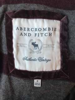 Abercrombie wool hoodie