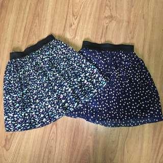 Pleated Skirt Set