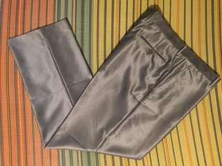 Slacks for Men Silver Size 40