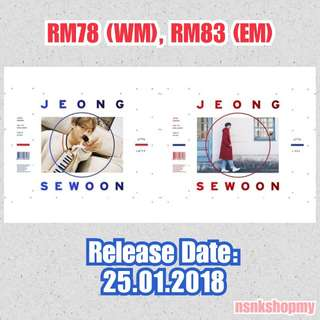 [PREORDER]  Jeong SeWoon - After