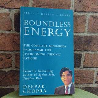Deepak Chopra - Boundless Energy