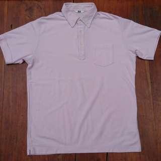 Kaos berkerah (polo shirt) UNIQLO original 100%