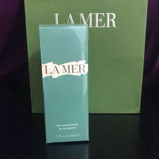 Brand new La Mer the concentrate 50ml