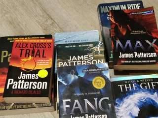 Books (Mainly James Patterson)
