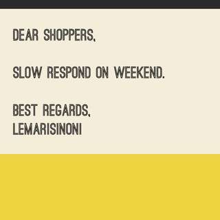 Slow respond on weekend