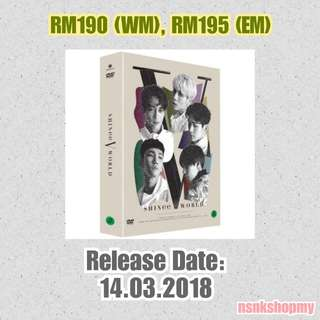 [PREORDER]  SHINee World V in Seoul DVD