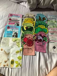 (INSTOCK) Korean sheet mask