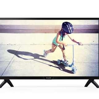 """Philips Slim LED Tv 32"""" 4000series"""